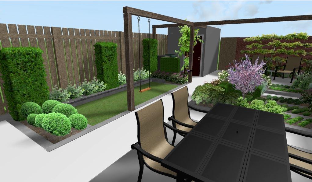 Kindvriendelijke tuin tuinontwerp arleta - Kleine designtuin ...